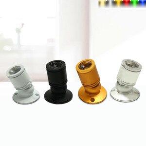 Image 2 - 5 יח\חבילה RGB LED זרקור משטח 3W מיני led ספוט אור תקרה למטה תאורה ניתן לעמעום ארון הנורה AC85 265V