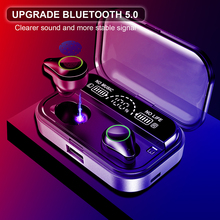 Wireless Bluetooth Earphones With 3500mAh Charging Case Touch Control 5.0 Headphone Mic For iOS Android