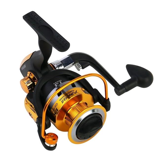 MKI Outdoor 5.5:1 /4:7:1 Fishing Spinning Reel Metal Plastic Fishing reels Pre-Loading Spinning Wheel Carp Fishing Reels 4