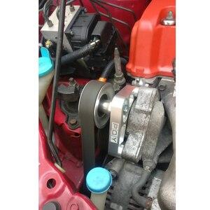 Image 5 - Kit de polea WLR ajustable EP3 para motores Honda 8th 9th Civic All K20 & K24 con tensor automático que mantiene instalado WLR CPY01 A/C