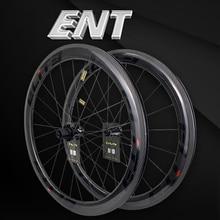Elite ENT 700c عجلات الكربون الطريق الخامس الفرامل 20 40 حفرة لامعة أو ماتي لايحتاج حافة جاهزة سابيم تأمين قفل الحلمة يان RF08 HUB