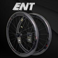 Elite ENT 700c yol karbon tekerlekler V fren 20 40 delik parlak veya mat Tubeless hazır jant Sapim güvenli kilit meme YAn RF08 HUB
