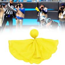 1pcs Football Penalty Flag Tossing Flags Sports Fan Penalty Party Set Accessory Flag T6P6