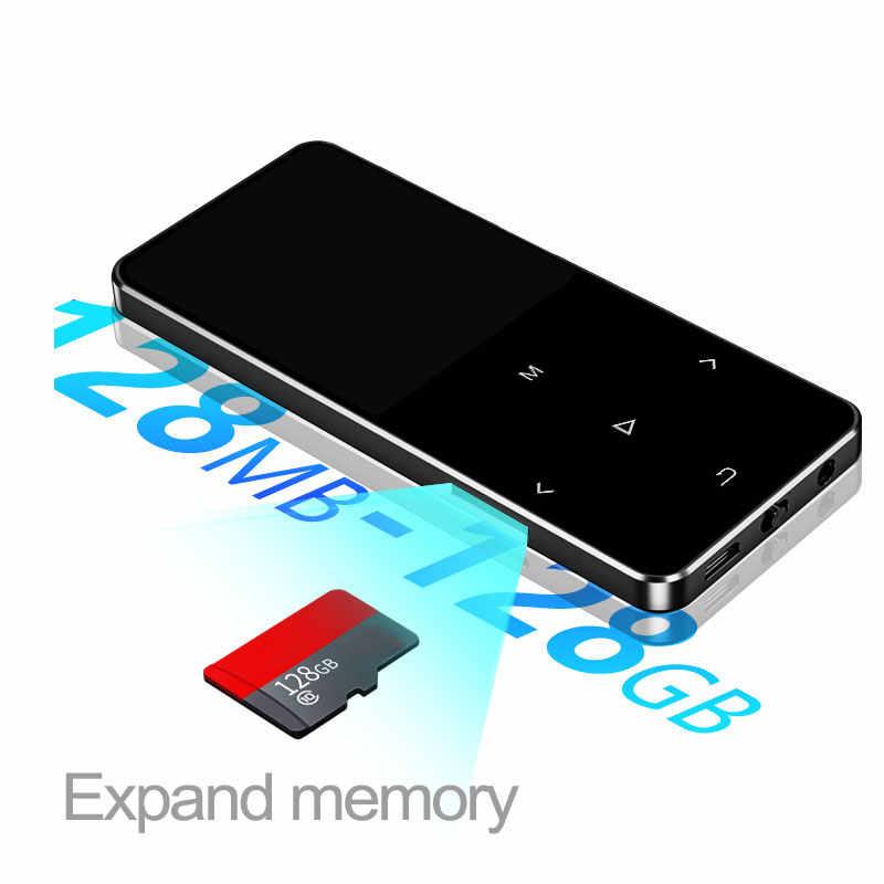 IQQ 新バージョン MP3 プレーヤー bluetooth スピーカータッチスクリーンと内蔵 16 グラムハイファイポータブルウォークマンラジオ/ FM/記録