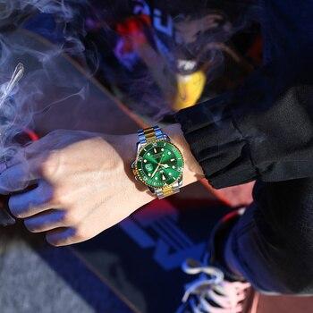 Original Luxury Automatic Watch Men Mechanical Movement Waterproof Sports Top Brand Stainless Steel Wristwatch Reloj Hombre 5