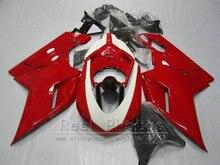 Plastic Bodywork fairing kit for Ducati 848 1098 1198 07 08 09 10 11 dark red black fairings set 848s 1098s 2007-2011 YY32