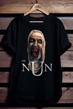 Valak Is Back The Nun T-Shirt S M L Xl 2Xl 3Xl Tee Shirt Hipster Harajuku Brand Clothing Summer Style Funny Top - discount item  50% OFF Tops & Tees