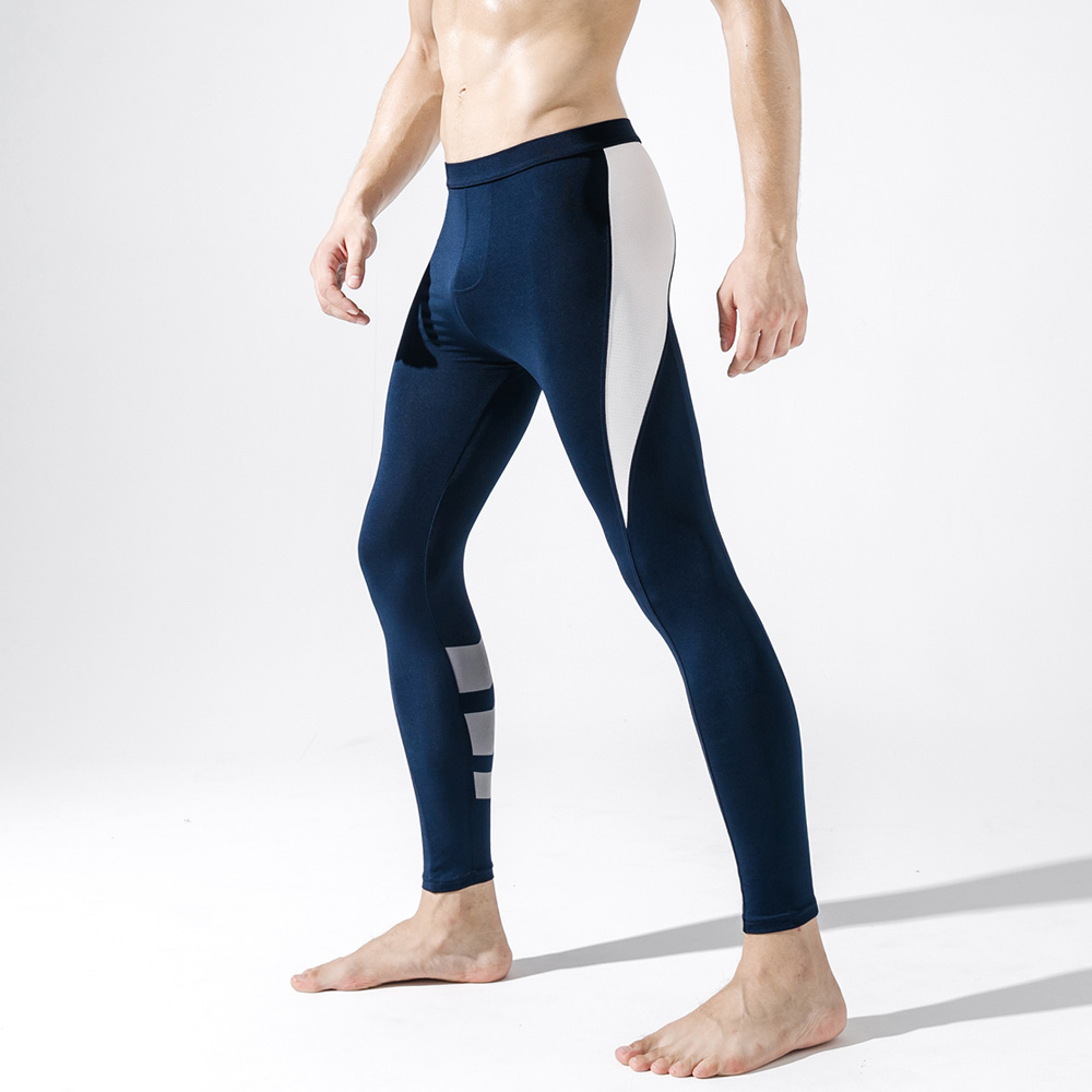 Men's Long Johns Fashion Man Track Pants Soft Male Fitness Stretch Comfortable Leggings Running-Sports Training-Pants Trousers
