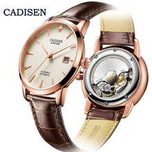 Get more info on the CADISEN Mechanical Watches Top Brand Fashion Automatic Watch Men MIYOTA 9015 Movement Waterproof Sapphire Real Leather Diamond