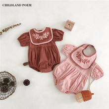 Baby Girl Romper Summer Newborn Baby Girl Clothes