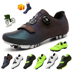 New MTB Cycling Shoes Men Professional Road Biking Shoes Self-locking Ultralight Bicycle Sneakers Outdoor Mountain Bike Shoes
