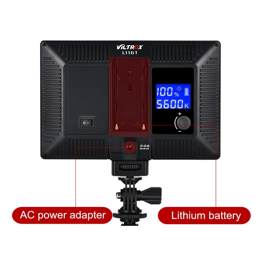 Image 3 - Viltrox L116T LED Video Light Ultra thin LCD Bi Color