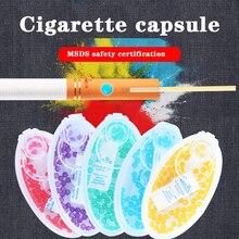 100 шт. табака хлопки бусины фруктовый аромат капсулы для Tobacc электронной сигареты курение аксессуары Для мужчин Подарочный держатель для та...
