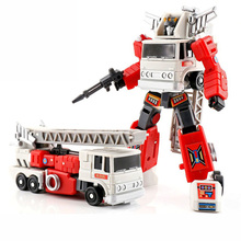 Lensple MS-Toys Transformation MS-B02F Artfire MS B02F Fevernova Mini Action Figure Robot Toys for gift