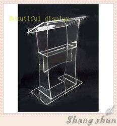 Stojaki na pulpit akrylowy  pulpit z pleksiglasu  pulpit z pleksiglasu wysokiej jakości przezroczysty akrylowy pulpit w Meble kinowe od Meble na