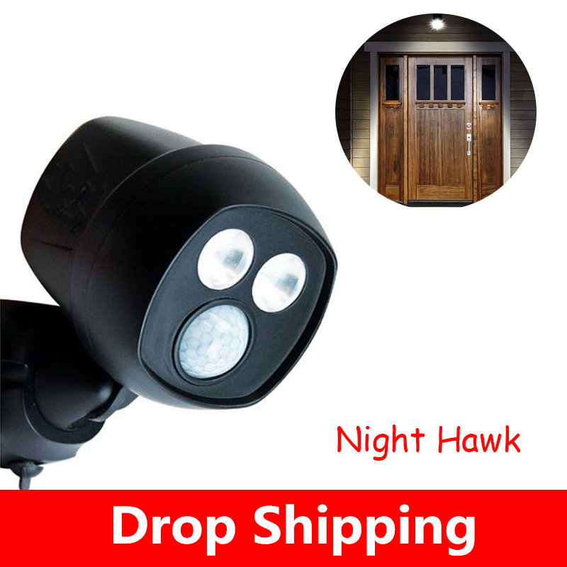 Night Motion-Activated Hawk Wireless LED Sportlight Super Bright Doorway Lights Keep Your Home Safe And Secure Light Night Hawk