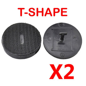 2pcs Car Floor Mat Clip T Anchor Plate Lock For BMW F10 F11 E65 E66 07149166609 Interior Accessories Floor Mat Clips image