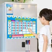 Магнитный детский календарь таблица ответственность временные