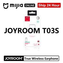 Joyroom auriculares T03S tws Binaural, inalámbricos por Bluetooth 5,0, auriculares intrauditivos genuinos inalámbricos con ventanas Pop Up para videojuegos, auriculares para jugador de videojuegos