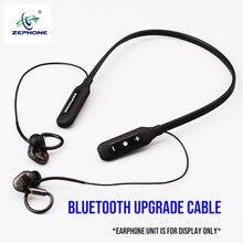 Zephone BT-7 aptx hd bluetooth fone de ouvido atualização cabo-mmcx a2dc 0.78 2pin (adequado com ie40 ie400/500pro se846 ie80s im04)