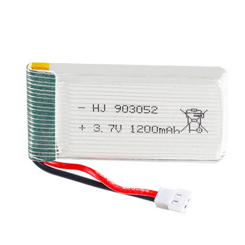 KY606D Drone 3.7v drone battery 1200 mAh/1600 mAh/1800 mAh / Please check the details before buying. image