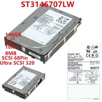 "Nuevo disco duro para Seagate Brand 146GB 3,5 ""10K7 SCSI 68PIN 8MB Ultra SCSI 320 para HDD interno para servidor HDD para ST3146707LW"