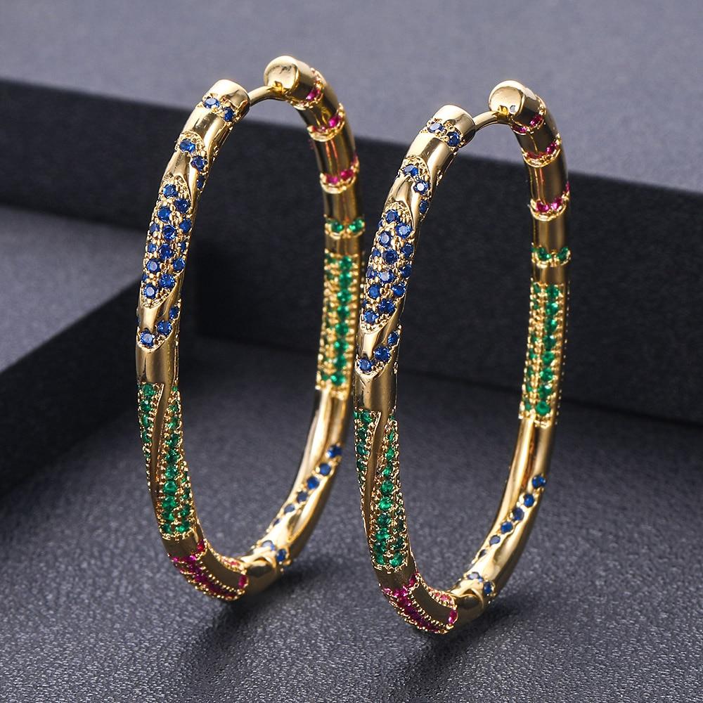 AccKing дизайн Красочные Серьги Геометрические для женщин ювелирные изделия Вечерние|Серьги-гвоздики|   | АлиЭкспресс