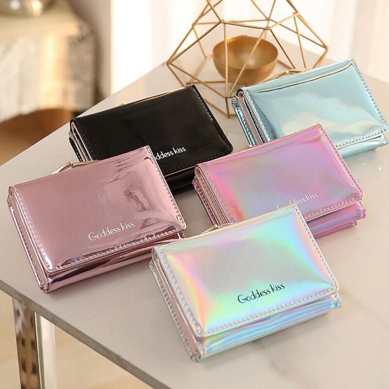 Women Mini Tassel Wallet Card Holder Clutch Coin Purse Leather Handbag Purse Bag