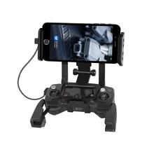 Soporte de tableta con control remoto para teléfono, Clip de Vista frontal para DJI Mavic Dron Air Spark Mavic Pro, iPad mini