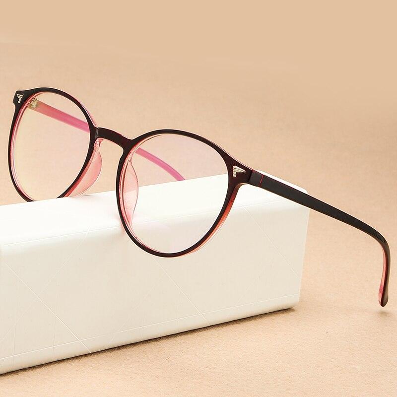 KOTTDO Retro Plastic Oval Prescription Computer Glasses Frame Women Round Vintage Myopia Eye Glasses Frames Men Eyewear Frame