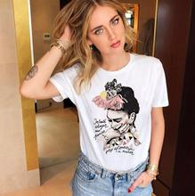 Women Clothes Vintage Vogue T Shirt Summer Female Fashion Artist Harajuku Cartoon Retro T-shirt