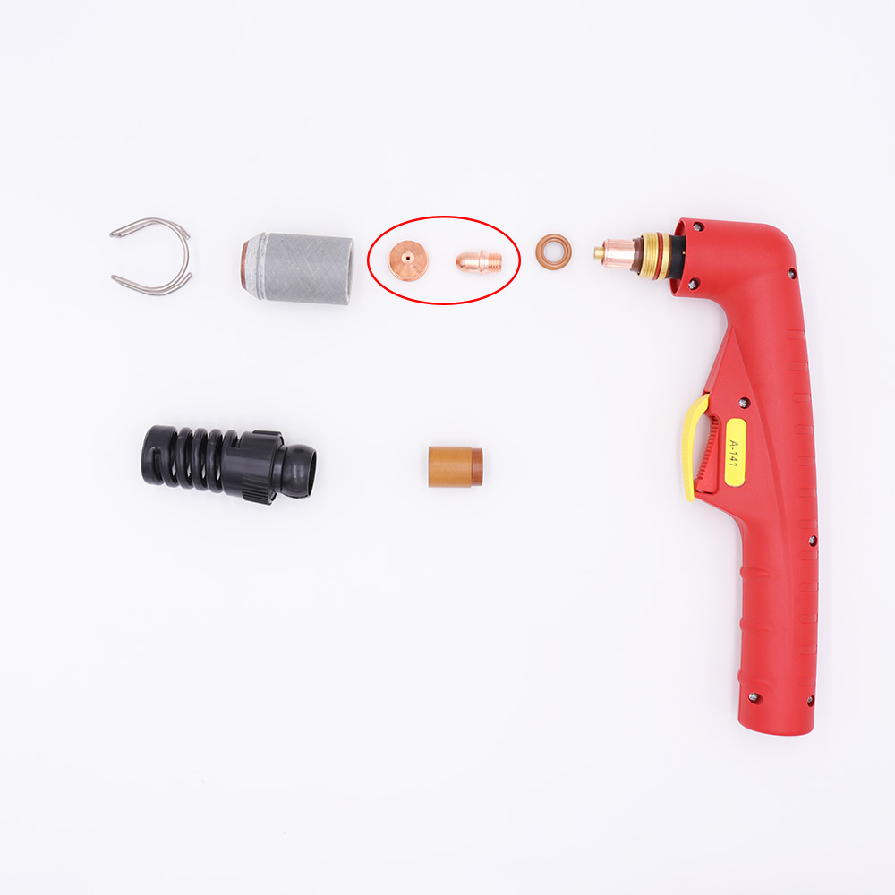 Plasma A101 And OEM 100pcs A141 Electrode Torch Trafimet Consumables Cutter Nozzle Air PD0101 100pcs PR0101 Cutting