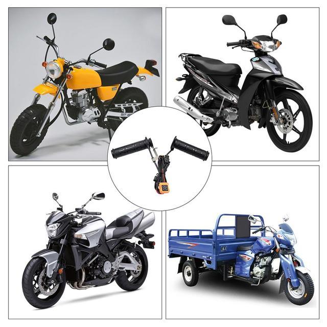 Фото руль мотоциклетный с подогревом 12 в с трехуровневым термостатом цена