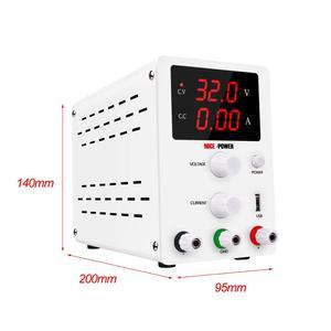 Image 2 - 30v 10a Labor Netzteil Digitale Display Einstellbar Schalt DC Power Supply Voltage Regulator 220 v 110v Neue eingetroffen
