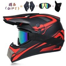 Göndermek 3 adet hediye motosiklet kask çocuk off-road kask bisiklet yokuş aşağı AM DH çapraz kask capacete motocross kasko