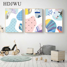 Nordic Canvas Painting Wall Picture Art Home Abstract Printing Posters for Living Room Decor DJ408