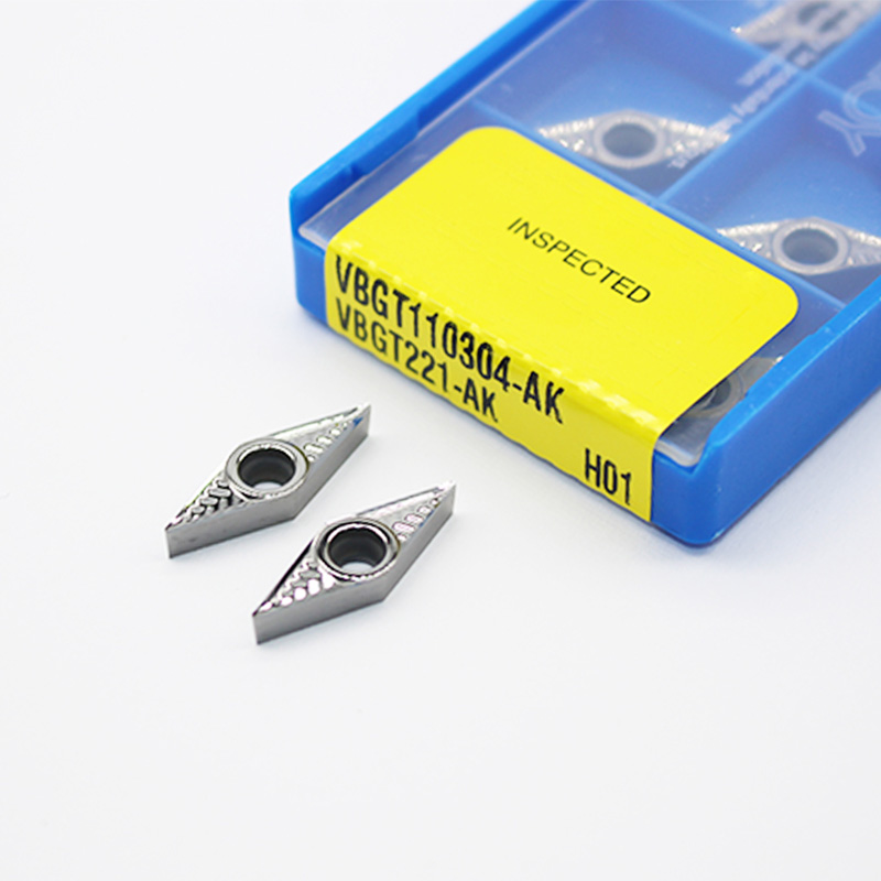 SVVCN 2020K11 External Lathe Turning Holder 10p VCGT110304-AK H01 Carbide CNC