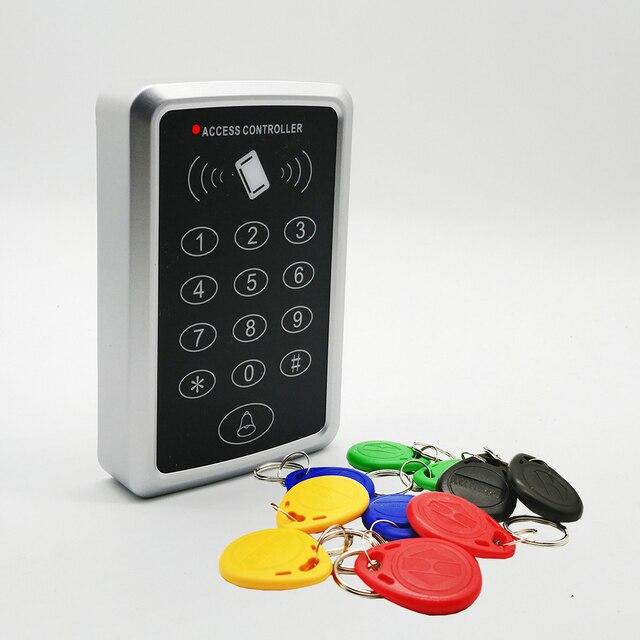 125Khz Rfid Access Control System Keypad Card Door Lock Access Controller