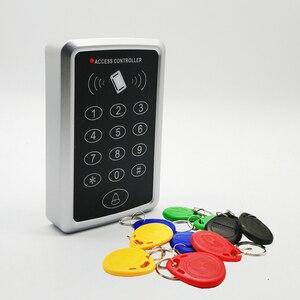 Image 1 - 125Khz Rfid erişim kontrol sistemi tuş takımı kart kapı kilidi erişim denetleyicisi