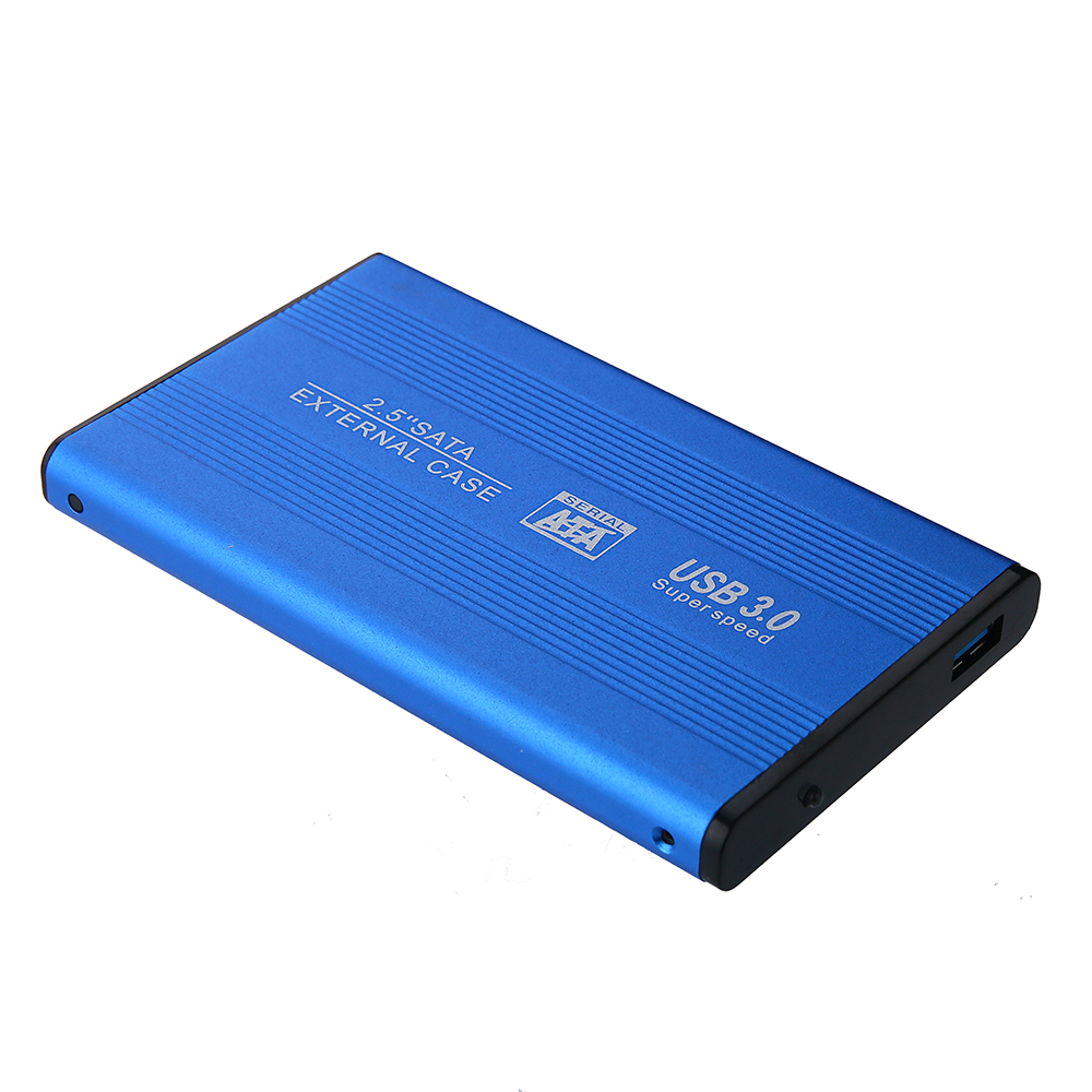Free Shipping2.5 Inch Notebook SATA HDD Case To Sata USB 3.0 SSD HD Hard Drive Disk External Storage Enclosure Box With3.0 Cable