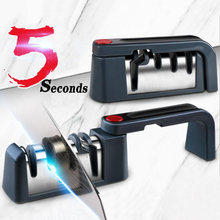 Knife Sharpener Scissors Chopping-Knife-Tools Folded And Home for Bone Can-Be-Rotated