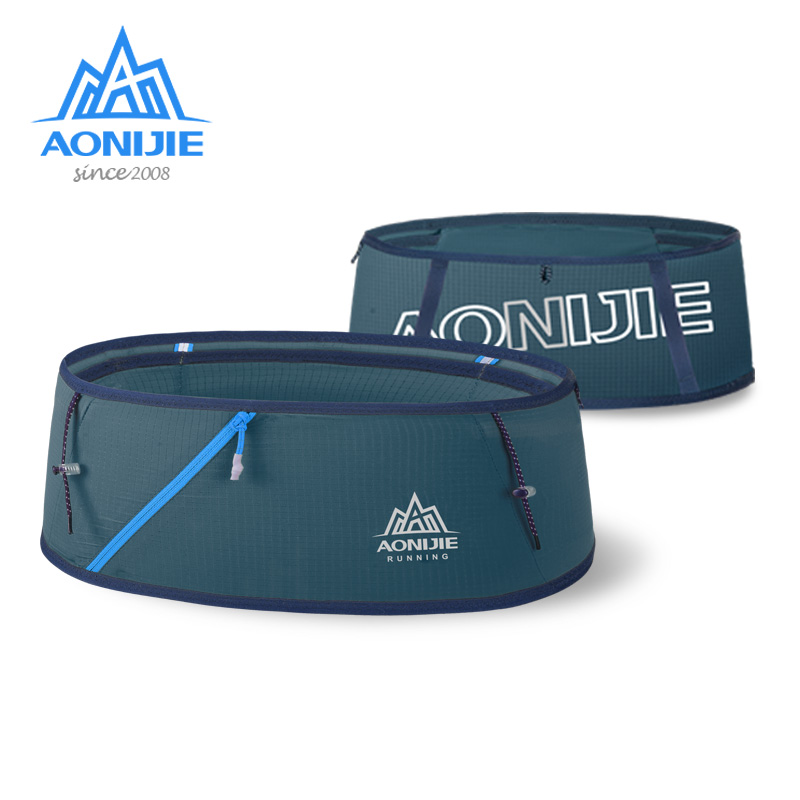AONIJIE W8101 Hydration Running Belt Fanny Waist Pack Travel Money Bag Trail Marathon Gym Workout Fitness Mobile Phone Holder