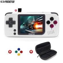 Game Console, Pocketgo, Video Game Console Retro Handheld, 2.4 Inch Scherm Draagbare Kinderen Game Spelers Met Geheugenkaart(China)