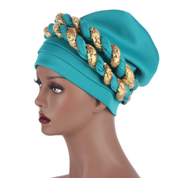Fashion Style African Women New Arrival Caps African Headtie image