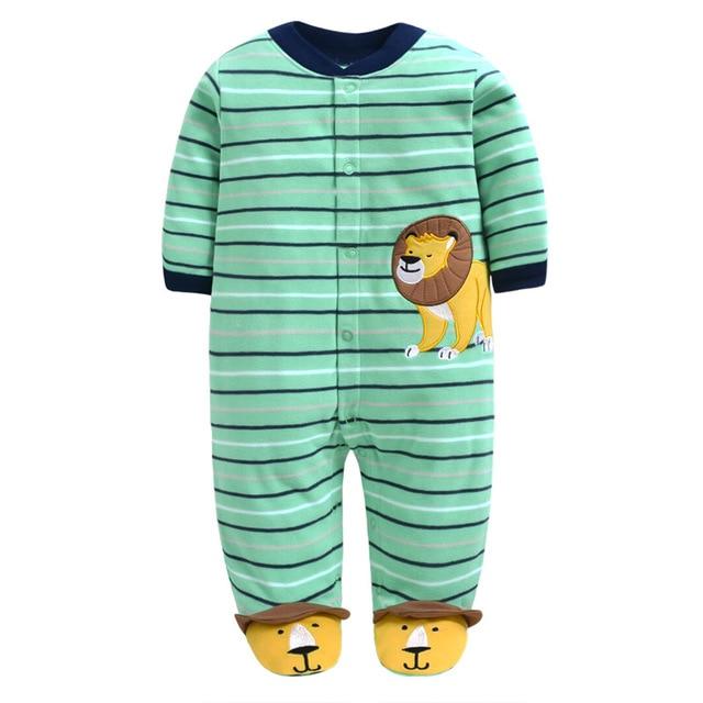 Venta al por menor mamelucos del bebé de lana trajes de cuerpo saltando frijoles ropa de bebé infantil; Body de bebé de algodón-piezas 1 unids/lote