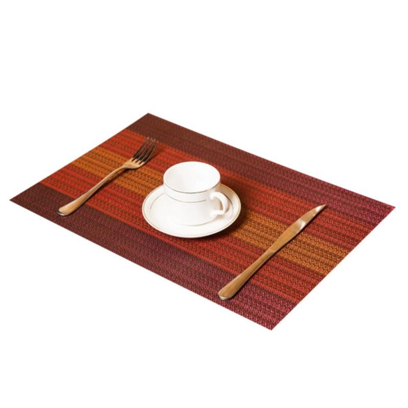 Коврик для обеденного стола, противоскользящий теплоизоляционный коврик, моющиеся коврики для кофе, термостойкие кухонные столы для обеде... - 6