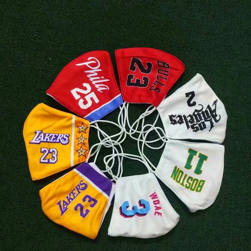 Basketball Fans Mask National Flag Country World Mask Fabric Anti-dust Reusable Washable Face Mask