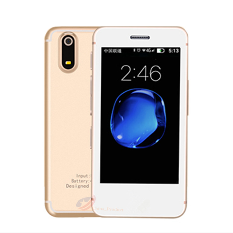 Smallest Smart Phone Melrose S9P Ultrathin Mini Mobile Phone MT6580A/X Quad Core 1GB 8GB Android 6.0 Cellphone S9 PLUS S9X