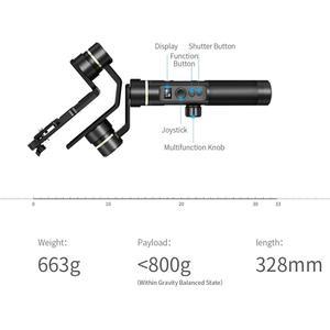 Image 2 - Used Open box FeiyuTech Feiyu G6 Plus 3 Axis Handheld Gimbal stabilizer for GoPro Mirrorless Camera Smartphone