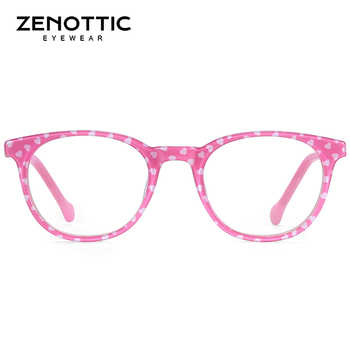 ZENOTTIC Optical Pink Cute Eyeglasses  3